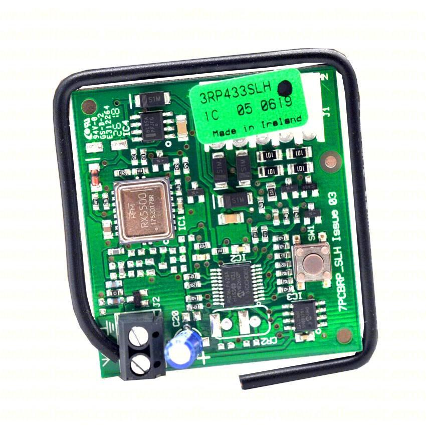 Ricevente radio ricevitore innesto monocanale FAAC RP 433 SLH 787824 in 5 pin 1