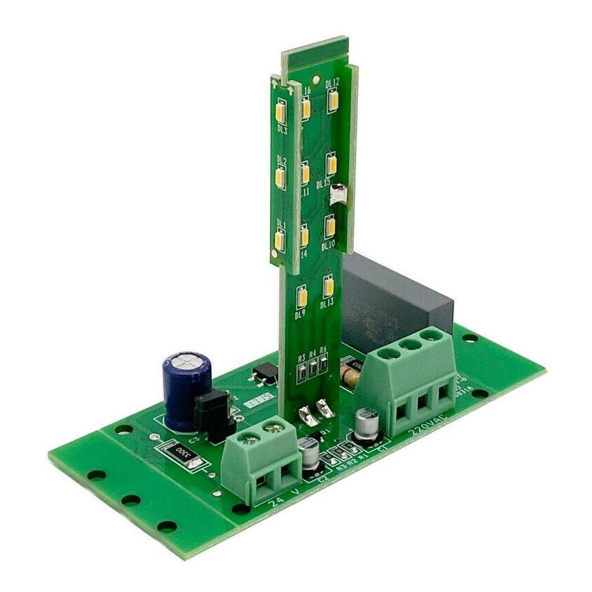MODULO LAMPEGGIANTE LAMPEGGIATORE LED COMPATIBILE CARDIN CEA TAU 230v 220v 24v