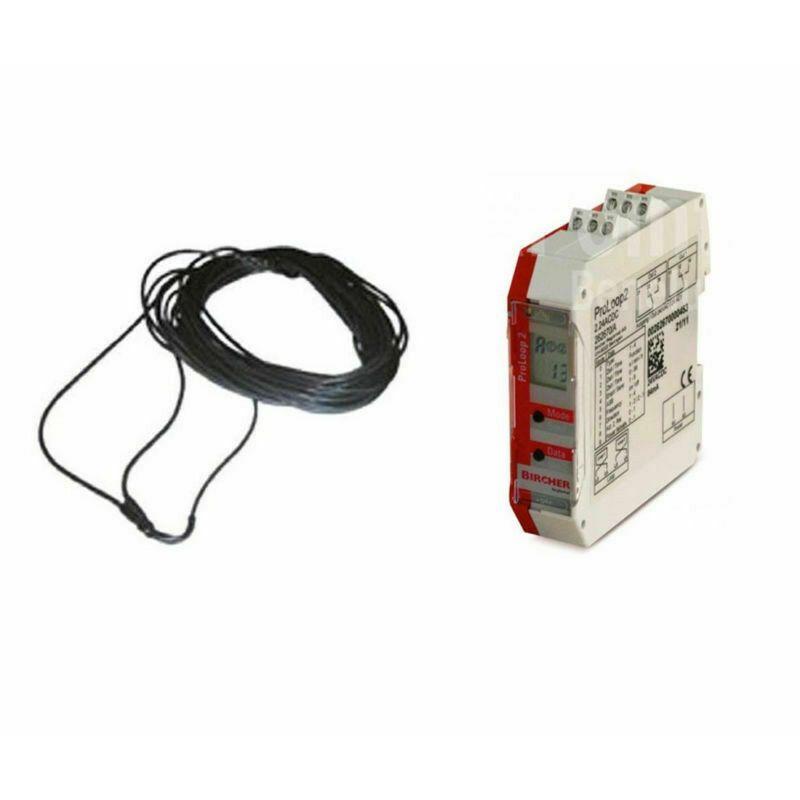 Kit completo modulo spira magnetica per installazione RILEVATORE + SPIRA 2x1