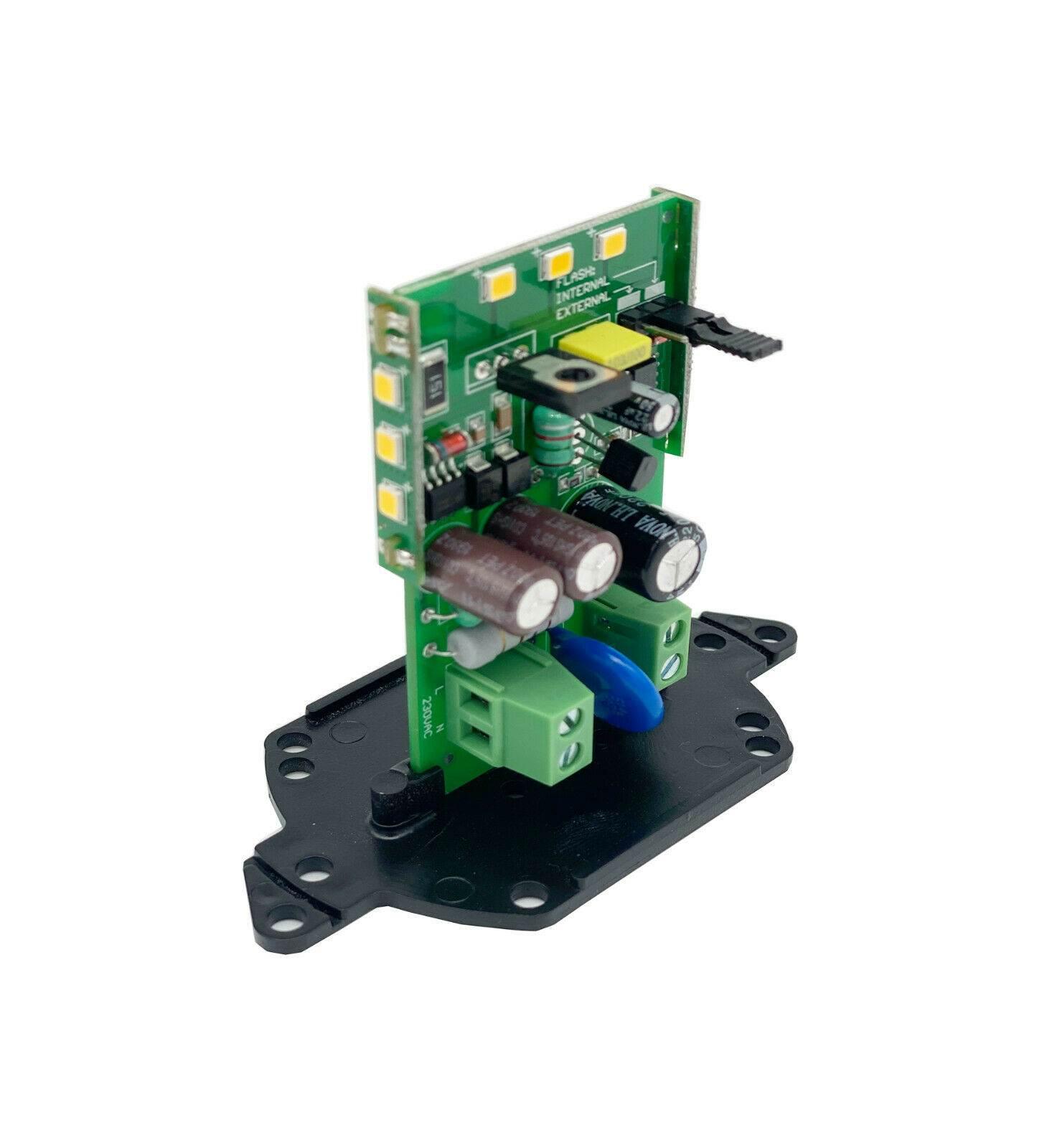 Circuito lampeggiante a LED universale 24V automazione FAAC BFT CAME NICE ROGER