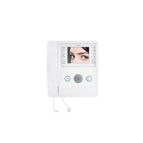 """VIDEOCITOFONO A CORNETTA LCD 3,5"""" BIANCO BUILDING CAME AGATA VC/B 200 62100360"""