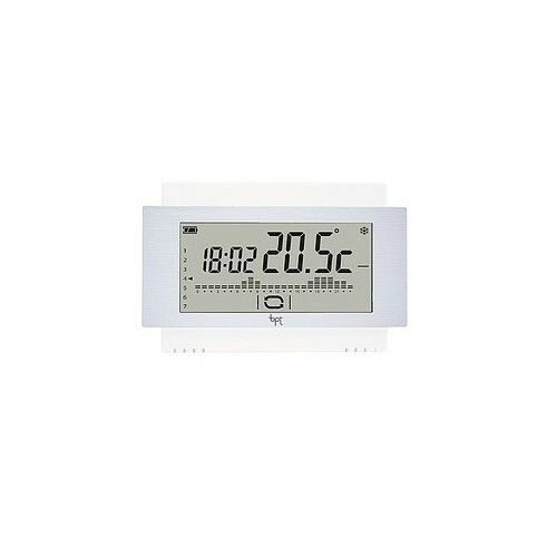 CRONOTERMOSTATO TOUCH SCREEN RADIO DA PARETE BIANCO CAME TH/500 WH WL 69400350