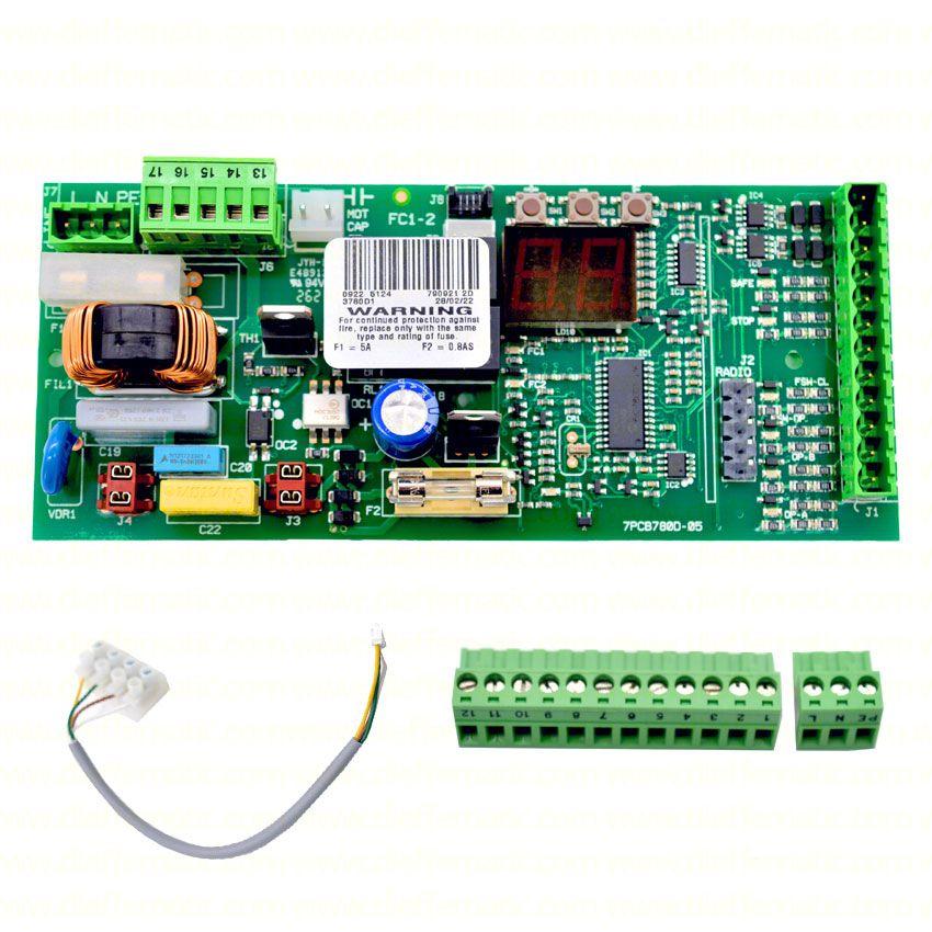 Centrale scheda elettronica FAAC 780D 7909212 automazione scorrevole 746-844