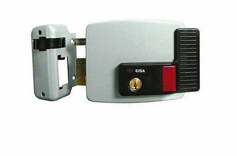 SERRATURE SERRATURA ELETTRICA DA APPLICARE CISA 50 mm SX 1 12V ORIGINALE